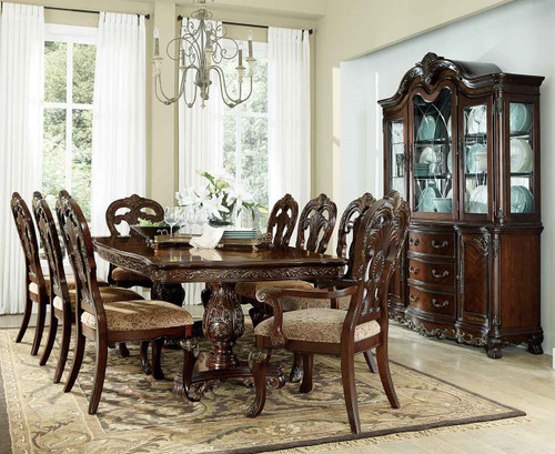 DERYN PARK COLLECTION DINING TABLE 5 PCS SET-2243