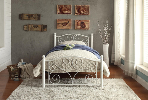 PALLINA COLLECTION METAL PLATFORM BED-2021TW