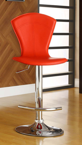 RIDE RED SWIVEL STOOL 2 PCS SET-1148RED