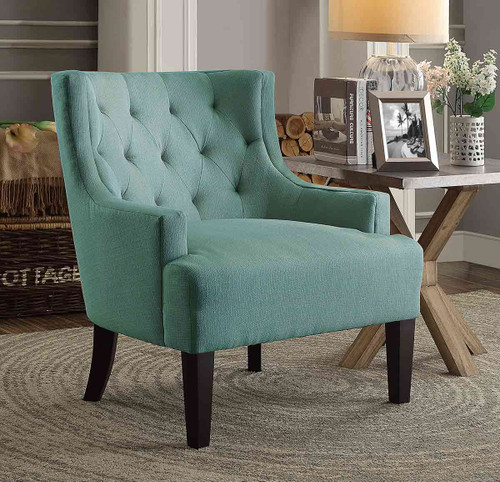DULCE ACCENT CHAIR TEAL