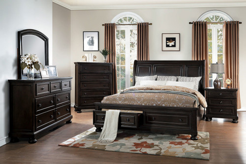 BEGONIA COLLECTION 6 PCS BEDROOM SET-1718GY