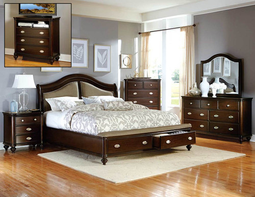 MARSTON COLLECTION 6 PCS BEDROOM SET-2615DC