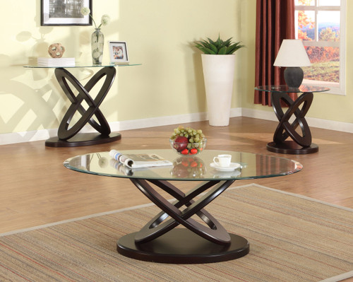 CYCLONE COFFEE TABLE COCKTAIL SET