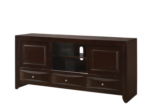 EMILY TV STAND DARK CHERRY