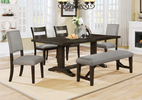 EDWINA DINING TABLE 5 PIECE SET-2168T