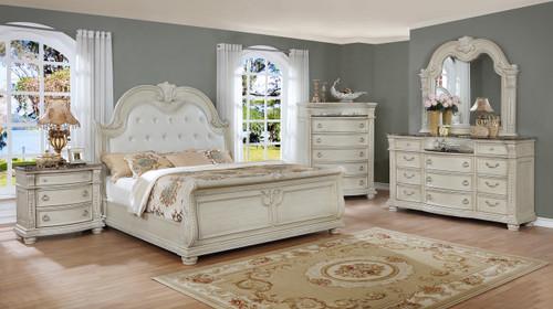 STANLEY SLEIGH BEDROOM SET-B1630