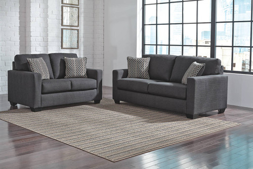 BAVELLO INDIGO COLLECTION SOFA AND LOVE SEAT 2 PCS SET-97301-38-35