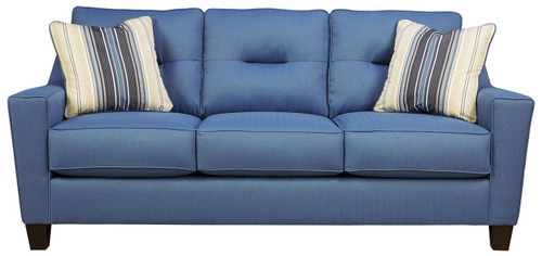 FORSAN NUVELLA BLUE COLLECTION QUEEN SOFA SLEEPER-66903-39