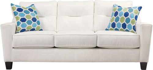 FORSAN NUVELLA WHITE COLLECTION QUEEN SOFA SLEEPER-66904-39