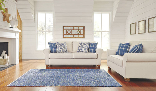 ADDERBURY SKY COLLECTION SOFA AND LOVE SEAT 2 PCS SET