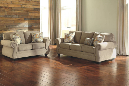 TAILYA BARLEY COLLECTION SOFA AND LOVE SEAT 2 PCS SET-47700-38-35