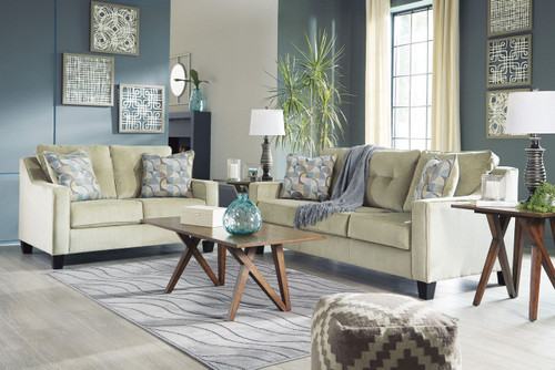 BIZZY MEADOW COLLECTION SOFA AND LOVE SEAT 2 PCS SET