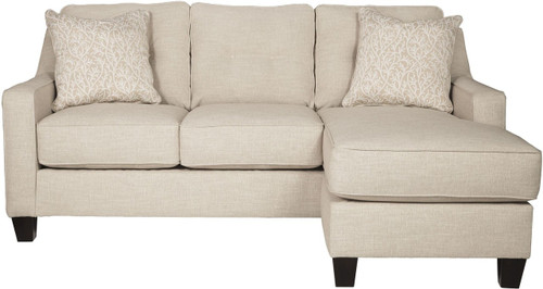 ALDIE NUVELLA SAND COLLECTION QUEEN SOFA CHAISE SLEEPER