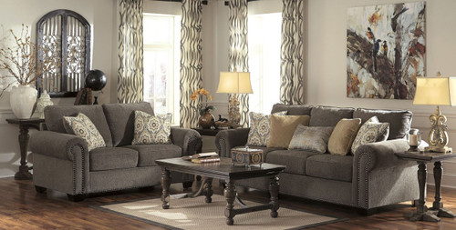 EMELEN ALLOY COLLECTION SOFA AND LOVE SEAT 2 PCS SET