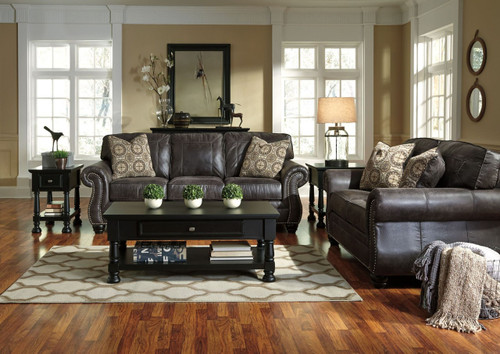 BREVILLE CHARCOAL COLLECTION SOFA AND LOVE SEAT 2 PCS SET-80004-38-35