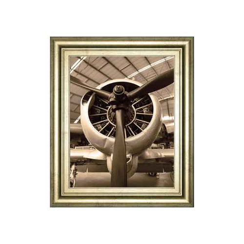 WWII FIGHTER BY DANITA DELIMONT 22x26