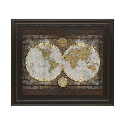WORLD MAP 22x26