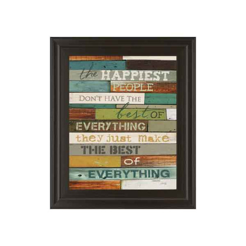 HAPPIEST PEOPLE BY MARLA RAE 22x26