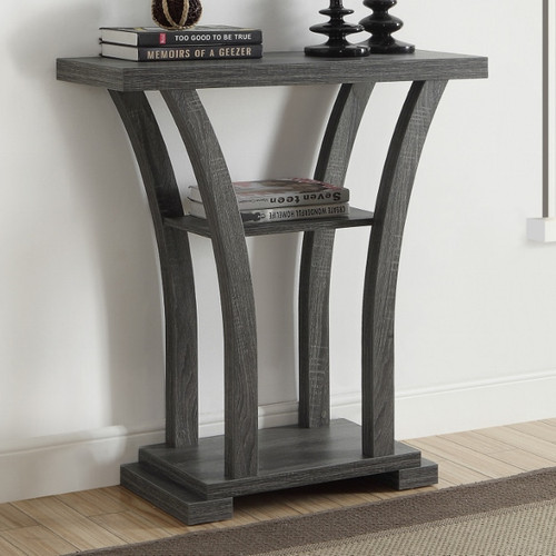 DRAPER CONSOLE TABLE GREY-4906-GY