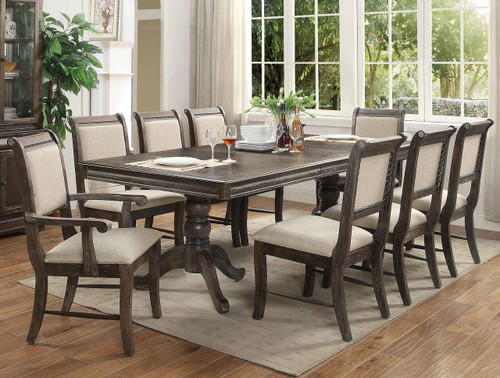 MERLOT DINING TABLE GREY
