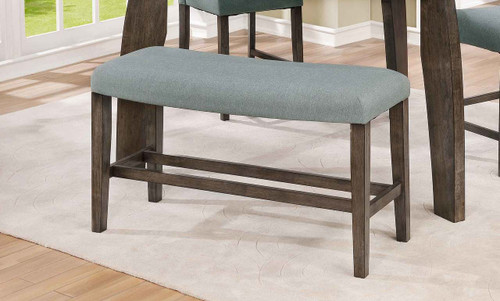 HOLLIS CURVE COUNTER HEIGHT BENCH-2718-BENCH