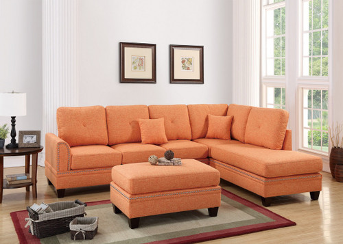 2PCS CITRUS SECTIONAL SOFA