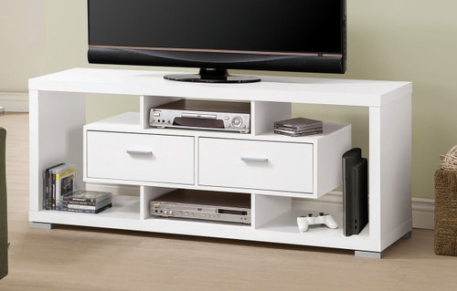 White Home Furnishings TV Console