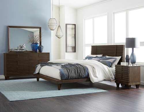 RIDGEWOOD COLLECTION WOODEN BED