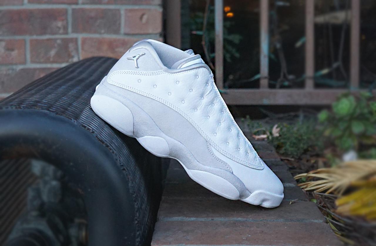 Jordan 13 Pure Platinum