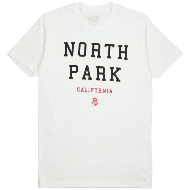 Overload - T-Shirt - North Park Cali - White
