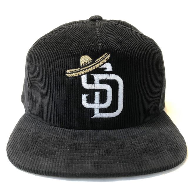 Overload - Hat - SD Sombrero Corduroy - Black