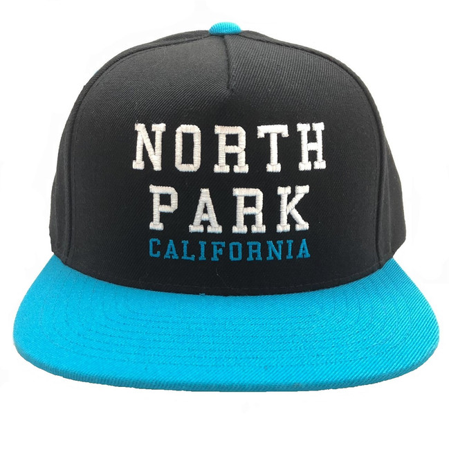 Overload - Hat - North Park - Black/Teal