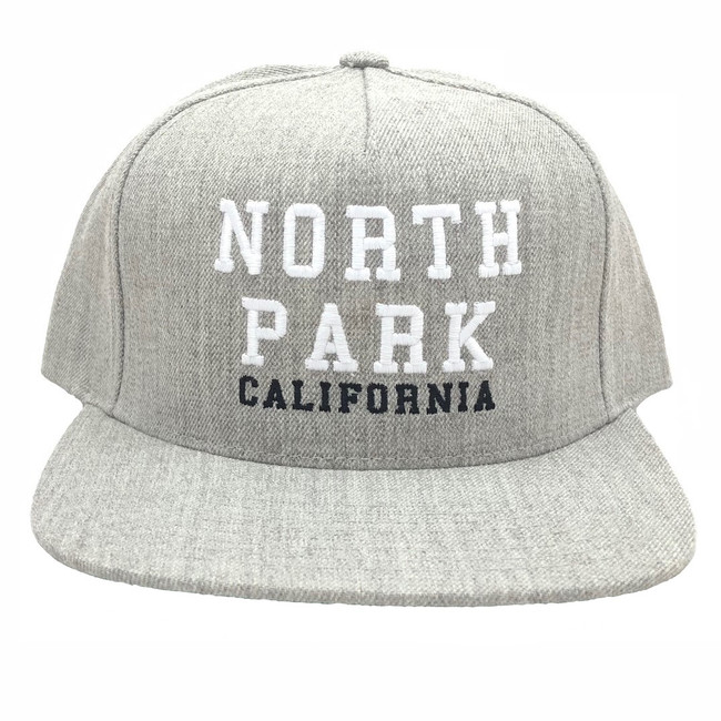 Overload - Hat - North Park - Heather Grey
