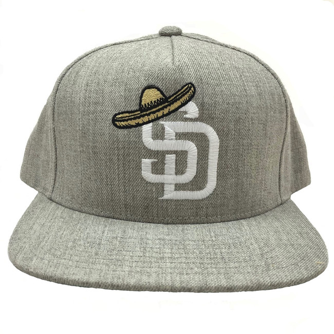 Overload - Hat - SD Sombrero - Heather Grey