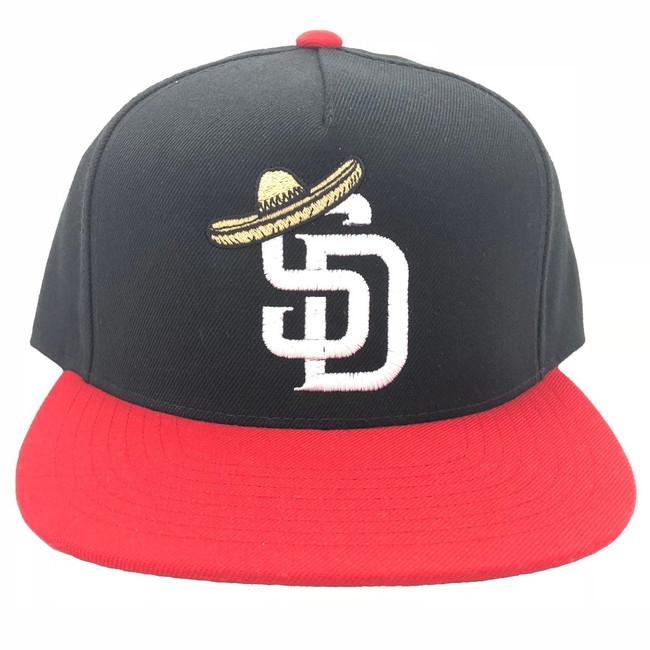 Overload - Hat - Sombrero - Black/Red