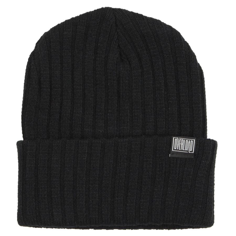Overload - Beanie - Clip Knit - Black