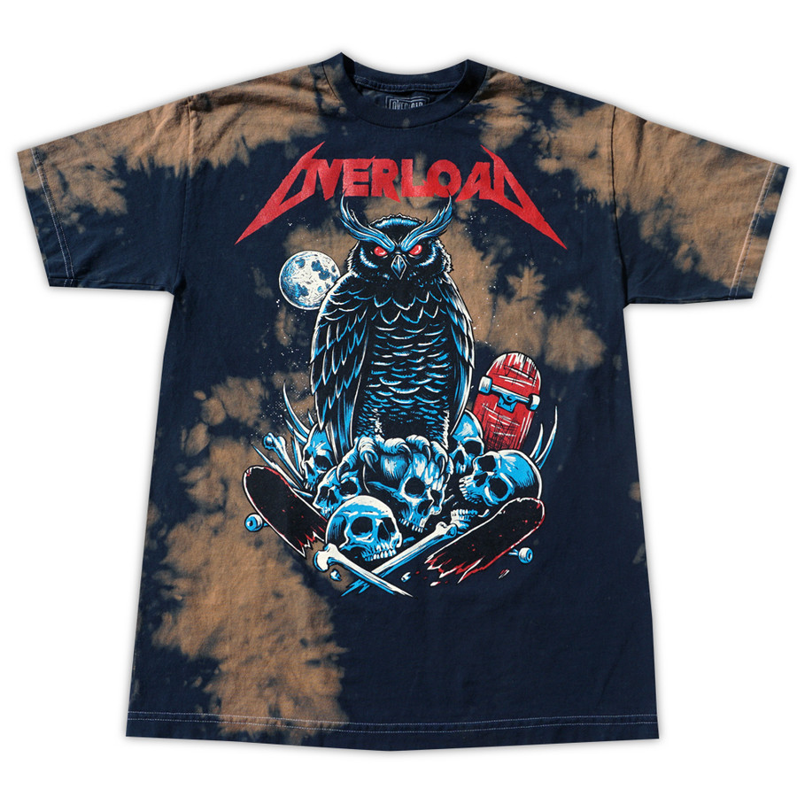 Overload - T-Shirt - Metal - Brown Cloudy