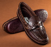 Alligator & American Bison Air Ship Moccasin