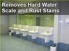 Restrooms floor cleaner