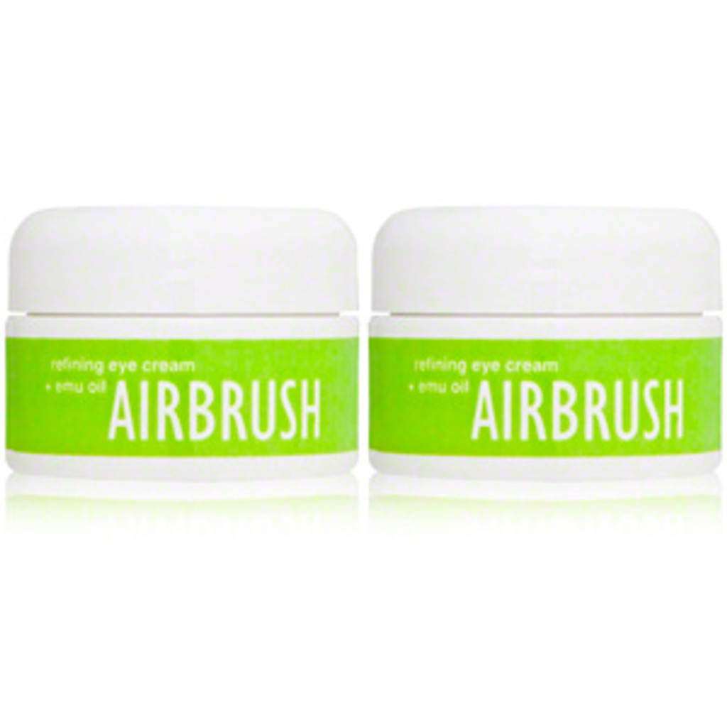 Airbrush - World's Finest Eye Cream:  Reduces puffiness right away, especially when applied cold! TWO 3 month JARS