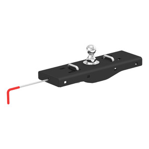 CURT Double Lock EZr Gooseneck Hitch #60619 certain years of the Chevy Silverado and GMC Sierra