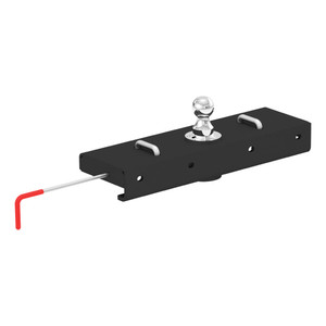 CURT Double Lock EZr Gooseneck Hitch #60611 certain years of the Chevrolet Silverado 2500 or 3500 or GMC Sierra 2500 or 3500