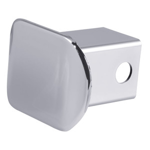 CURT Plastic Hitch Tube Cover #22170 Receiver Tube Size: 2 inch Finish:Chrome
