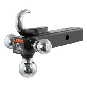 CURT Multi-Ball Mount with Tow Hook #45675