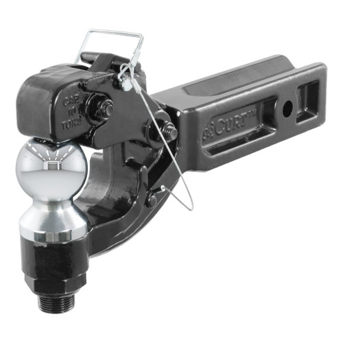 CURT Receiver-Mount Ball & Pintle Combination #48012
