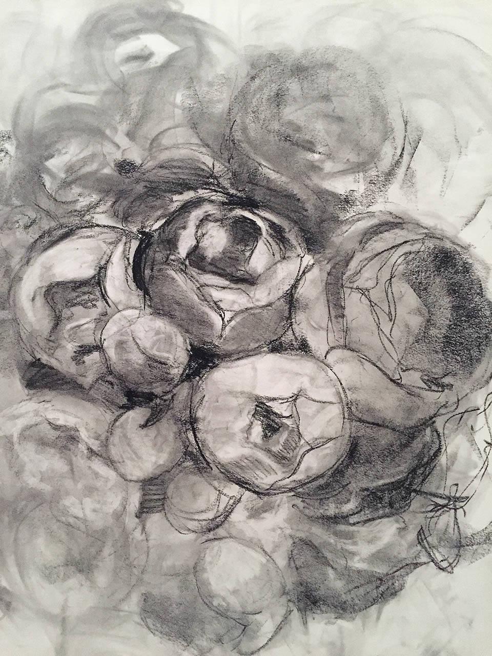 Roses Drawing