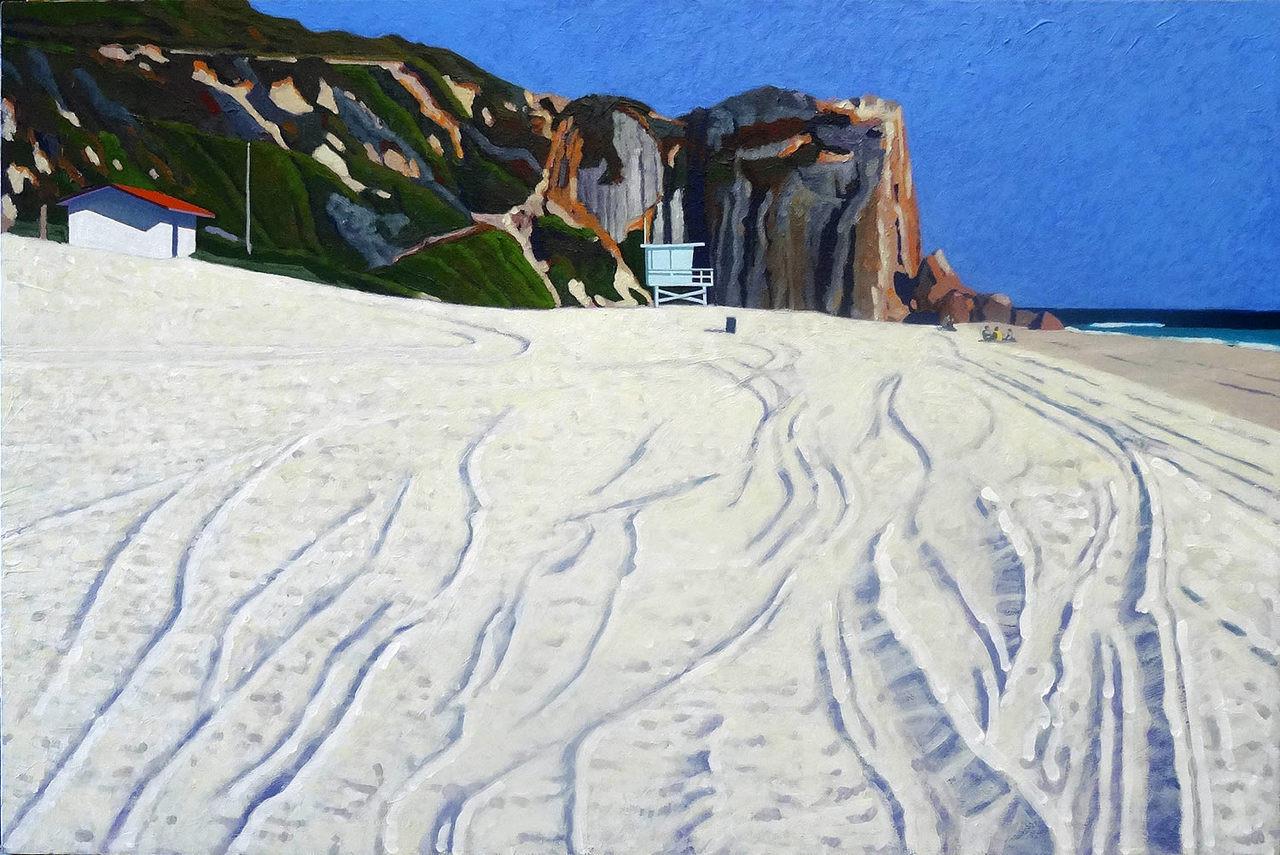 Sand Tracks - Westward Beach