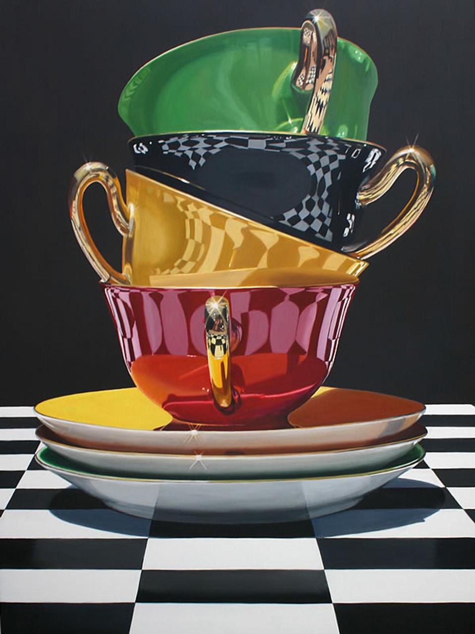 Towering Teacups