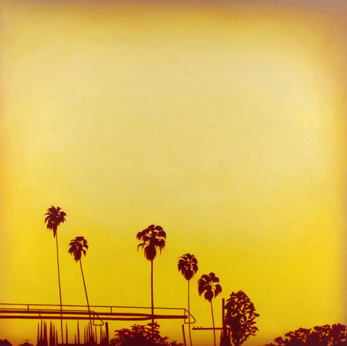 #palmtrees and a #freeway #sunset #losangeles