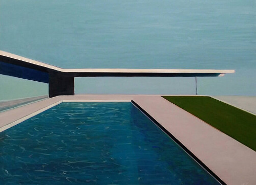 Case Study House #22 with Turquoise Water